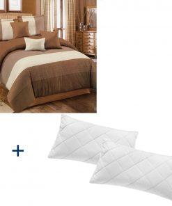 Lenjerie de pat dublu plus 2 perne