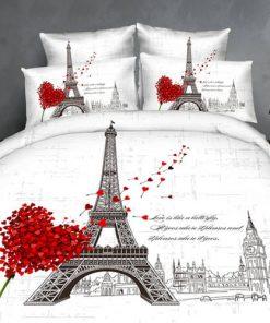 Lenjerie 3D Turnul Eiffel Ralex Pucioasa