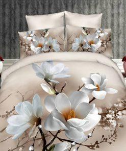 Lenjerie 3D Ralex Pucioasa Magnolia
