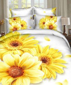 Lenjerie 3D Sunflower Ralex Pucioasa